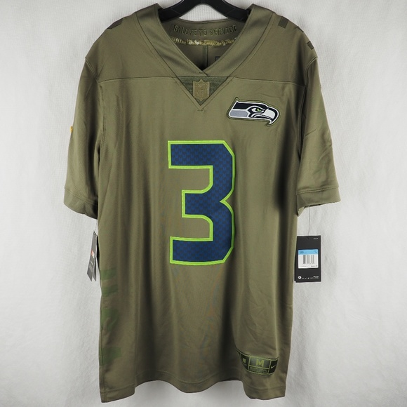 Nike Seattle Seahawks Russell Wilson Jersey Medium 4eeb57f53